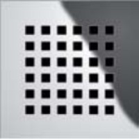 Декоративная решетка 93,5х93,5мм Tece drainboard quadratum 310 00 00