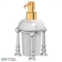 Дозатор для жидкого мыла настольный 3SC Stilmar UN Chrome/Gold STI 129