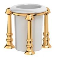 Стакан настольный 3SC Stilmar UN Gold STI 227