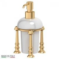 Дозатор для жидкого мыла настольный 3SC Stilmar UN Satin Gold STI 329
