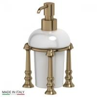 Дозатор для жидкого мыла настольный 3SC Stilmar UN Antic Bronze STI 529