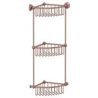 Полочка-решетка угловая тройная 3SC Stilmar Antic Copper STI 609