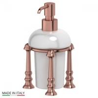 Дозатор для жидкого мыла настольный 3SC Stilmar UN Antic Copper STI 629