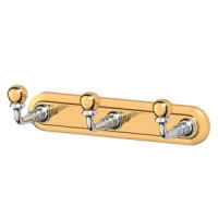 Планка с 3-мя крючками 3SC Stilmar Chrome/Gold STI 102