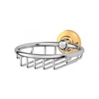 Мыльница-решетка 3SC Stilmar Chrome/Gold STI 106