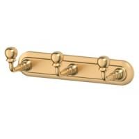 Планка с 3-мя крючками 3SC Stilmar Satin Gold STI 302