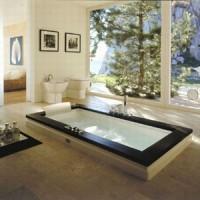 Гидромассажная ванна 180х90см Jacuzzi Aura Uno 9F43-344A Венге