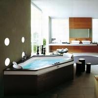 Гидромассажная ванна 160х160см Jacuzzi Aura Corner 160 Top Венге 9F43-483A