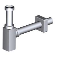 Сифон для раковины Alcaplast DESIGN A401