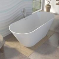 Ванна 170x70 овальная Alpen Bergamo 170
