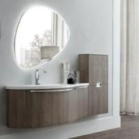 Комплект мебели для ванной 146см Arbi Inka 01