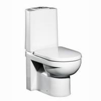 Унитаз напольный с сиденьем микролифт Gustavsberg Artic 4310 GB114310301737