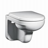 Унитаз подвесной с сиденьем микролифт Gustavsberg Artic 4330 GB114330201231
