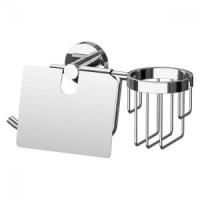 Держатель туалетной бумаги с крышкой и освежителя Artwelle Harmonie HAR 051