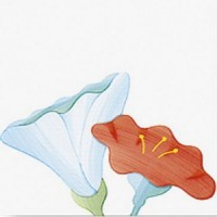 Керамическая плитка 20*20см Bardelli I Fiori d'Alice 3 (шт)