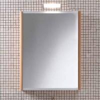 Шкаф зеркальный 60х14см Berloni Bagno SN06 (белый, без светильника)