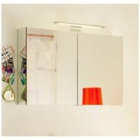 Зеркальный шкаф 900х600 с подсветкой BURGBAD Tivo
