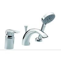 Смеситель для ванны врезной на 3 отверстия Damixa Clover 60013