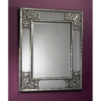 "Зеркало 83x102 Deknudt Mirror ""Angolo Silver"" 2015.162"
