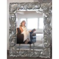 "Зеркало 87x112 Deknudt Mirror ""Massive Silver"" 2586,362"