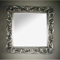 """Зеркало 108x108 Deknudt Mirror """"Voluta Silver"""" 2700.162"""