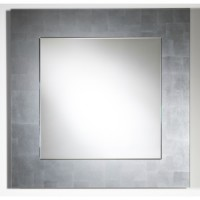 "Зеркало 85x85 Deknudt Mirror ""Basic Silver"" 2517,162"