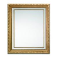 """Зеркало 101x120 Deknudt Mirror """"Golden Rope"""" 2624,221"""