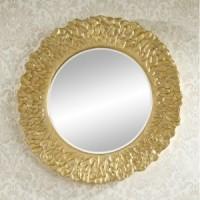 """Зеркало 110x110 Deknudt Mirror """"Flora Gold"""" 2724,222"""