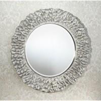 """Зеркало 110x110 Deknudt Mirror """"Flora Silver"""" 2724,262"""