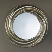 "Зеркало 94x94 Deknudt Mirror ""Ondule Silver"" 9929.AHB"