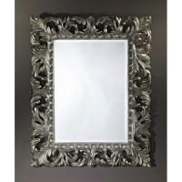 """Зеркало 80x100 Deknudt Mirror """"Sculpture Silver"""" 9985.AHB"""
