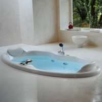 Гидромассажная ванна 210х100см Jacuzzi Elipsa 9443-109A + 9H23-5140