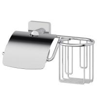 Держатель туалетной бумаги с крышкой и освежителя Ellux Avantgarde AVA 069