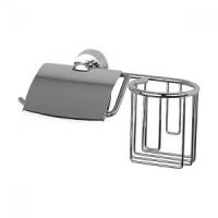 Держатель туалетной бумаги с крышкой и освежителя FBS Vizovice VIZ 053