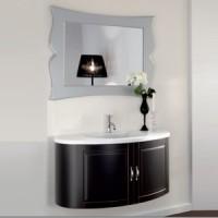 Комплект мебели 105см Arbi Firenze, чёрный матовый