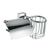 Бумагодержатель+Держатель для освежителя воздуха Fixsen Kvadro FX-61309+10