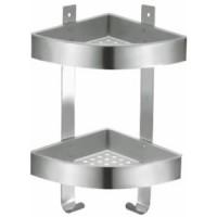 Полка угловая двухэтажная Fixsen FX-833-2