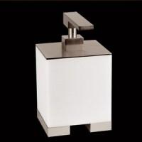 Дозатор для жидкого мыла настольный Gessi Rettangolo 20837