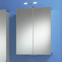 Зеркальный шкаф c подсветкой HSK ASP 300 60*75*17см 1102060