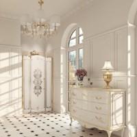 Душевая дверь распашная 120х201 Huppe Studio Victorian SV0601.031.322 петли слева
