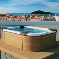Мини-бассейн отдельностоящий Jacuzzi Santorini Pro Freestanding  9444-83052