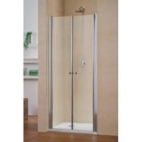 Дверь в нишу 800мм Duka Multi-S 4000 GPT2N 800 Матовое серебро/Сатинированное стекло