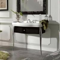 Комплект мебели Kerasan Retro 7363 черная