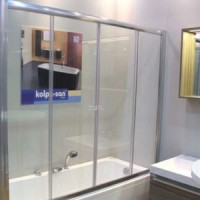 Шторка для ванны 170см Kolpa-san Orion TV/4D 170