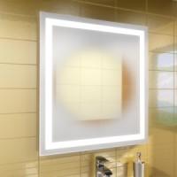 Зеркало с подсветкой 80*65cm Leroni Luxor 208065