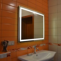 Зеркало с подсветкой 90*65cm Leroni Luxor 209065