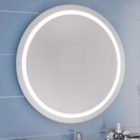 Зеркало с подсветкой 80cm Leroni Ring 308080