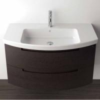Комплект мебели 100х50см Berloni Bagno Moon MN BS33T (белый)