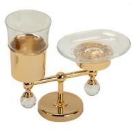 Держатель стакана и мыльницы настольный Migliore Amerida ML.AMR-60.410 DO