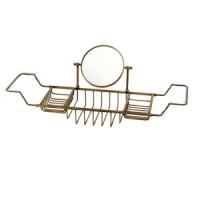 Полка-решетка на ванну с оптическим зеркалом Migliore Caos ML.COM-50.172